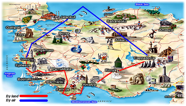 Best 2 week tour of Turkey Turkey travel company offers tours and