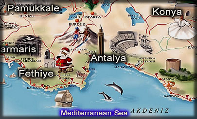 Providing daily tours and travel services in Antalya Turkey travel
